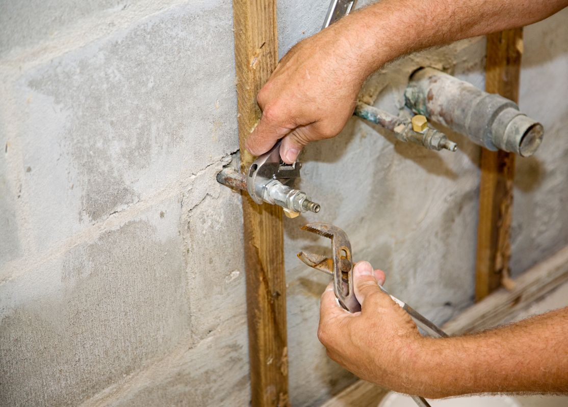 Instalacje sanitarne w stanie surowym Szczecin